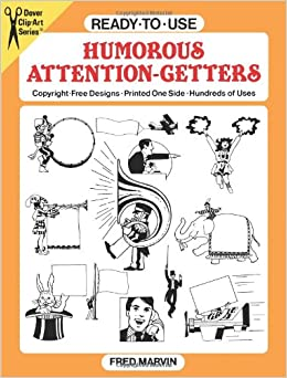Ready-to-Use Humorous Attention-Getters (Dover Clip Art ...