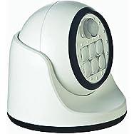 Fulcrum Products, Inc 20031-108 Porch Motion Floodlight-WHITE 6 LED PORCH LIGHT