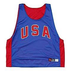 USA Retro-Colorway Lacrosse Pinnie