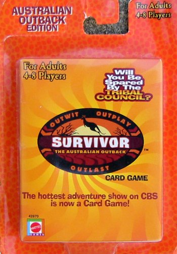 Survivor: The Australian Outback Card Game
