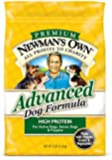 Newman's Own Advanced Dog Formula for Active or Senior Dogs, 7-Pound Bag