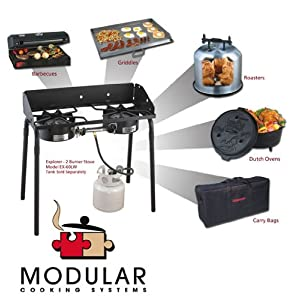 Camp Chef Explorer system 