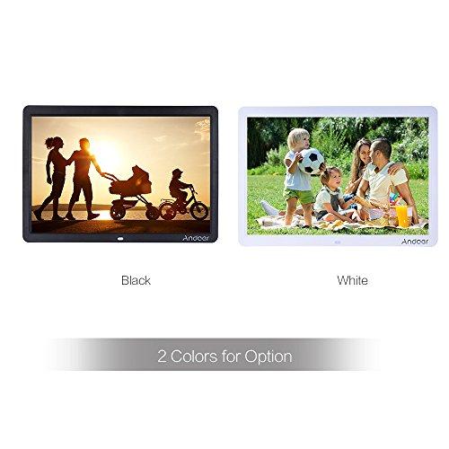 g nstig andoer 15 wide screen hd led digital bilderrahmen hohe aufl sung 1280 800. Black Bedroom Furniture Sets. Home Design Ideas