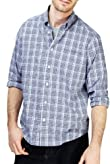 Pure Cotton Easycare Over Checked Shirt [T25-8315M-S]