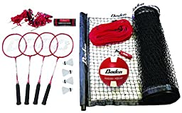 Baden Champions Series Outdoor Combo Badminton/Volleyball Set