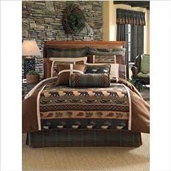 Croscill Caribou Comforter Set, Queen, Multicolor