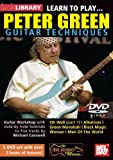 echange, troc Learn to Play Peter Green Guitar Techniques [Import anglais]