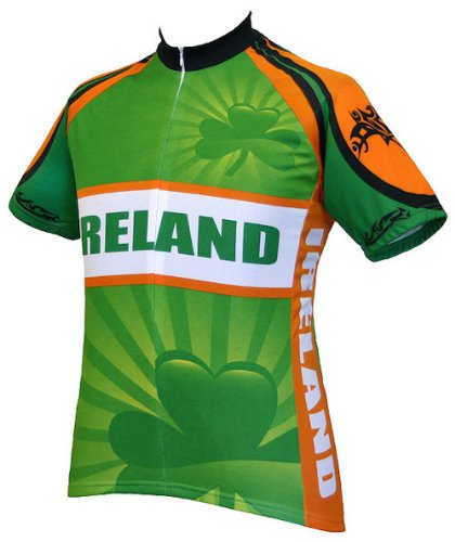 Buy Low Price Ireland Bicycle Jersey Small (B002CSFZ6W)