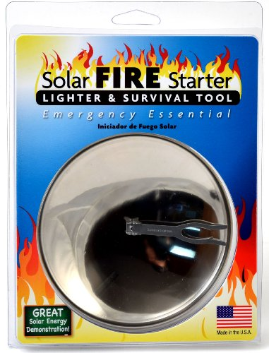 Solar Spark Lighter And Survival Tool
