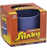 POOF-Slinky Model #110 Plastic Original Slinky in Box, Single Item, Assorted Colors