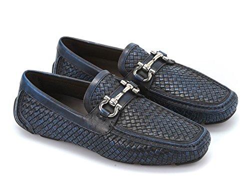 zapatos-de-mocasines-de-cuero-tejido-azul-de-ferragamo-hombres-numero-de-modelo-parigi-0632953-taman