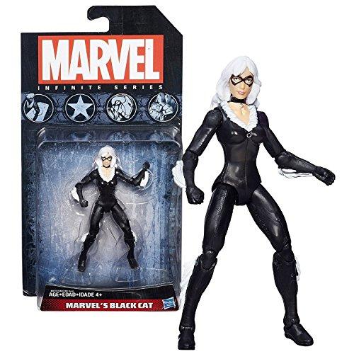 Hasbro Year 2014 Marvel Infinite Series 4 Inch Tall Action Figure - MARVEL'S BLACK CAT (aka Felicia Hardy)