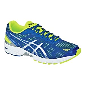Asics Trainer 19 - Homme - Gel-DS jaune/bleu (Taille: 43,5) Chaussures course