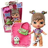 Mga Entertainment Bratz Babyz So Cute Series 5 Inch Doll Yasmin With Baby Bottle Necklace, Shoulder Bag, Pretty...