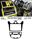 Prewoodec Cockpit Dekor f�r Chevrolet Matiz/Spark KLYA ab 02.2005 Gelb hell (Exklusive 3D Fahrzeug-Ausstattung - Made in Germany)