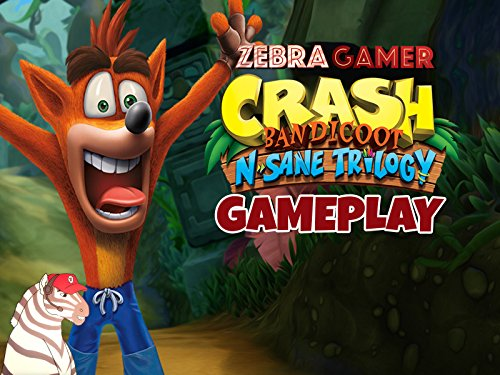Clip: Crash Bandicoot N. Sane Trilogy Gameplay - Zebra Gamer - Season 1
