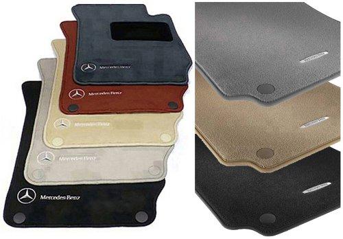 Mercedes benz genuine oem carpeted floor mats set for 2000 for Mercedes benz oem floor mats