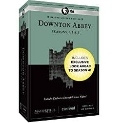 Masterpiece: Downton Abbey Seasons 1, 2 & 3 Deluxe Limited Edition (Amazon Exclusive Season 4 Bonus Features)