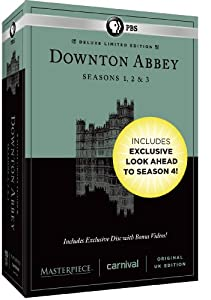 Masterpiece: Downton Abbey Seasons 1, 2 & 3 Deluxe Limited Edition (Amazon Exclusive Season 4 Bonus Features) by PBS