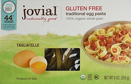 Jovial Organic Gluten Free Brown Rice Pasta, Egg Tagliatelle, 9 Ounce (Jovial Egg Pasta compare prices)