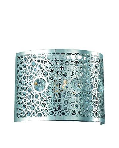 Crystal Lighting Soho Collection Wall Sconce, Chrome