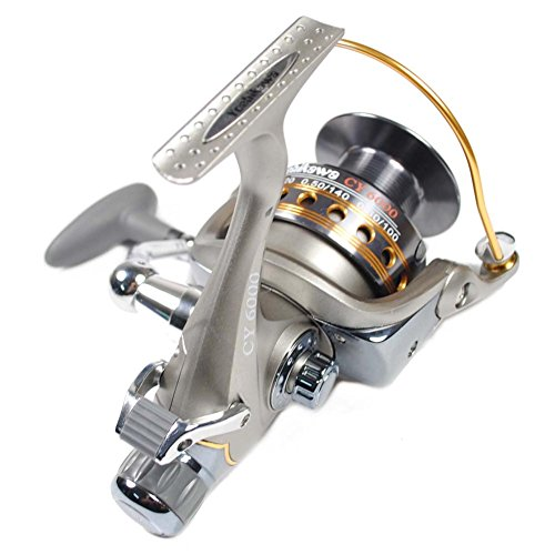 Yoshikawa saltwater fishing spinning reel baitrunner for Open reel fishing pole