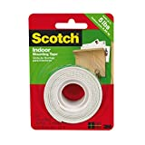 3M Scotch Heavy Duty Mounting Tape, 1-Inch by 50-Inch