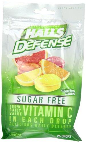 Halls Defense Sugar Free 25 Drops