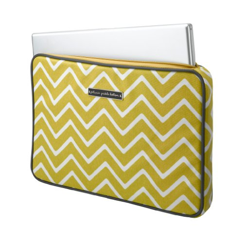 Petunia Pickle Bottom Carried Away Laptop Case Sunshine In Scandinavia front-806740