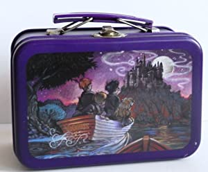 harry potter micro lunch box tin journey to. Black Bedroom Furniture Sets. Home Design Ideas