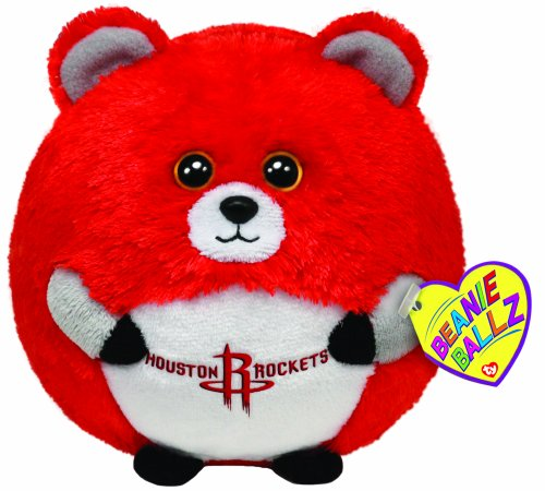 Ty Beanie Ballz Houston Rockets - Nba Ballz front-902379