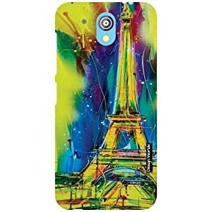 Design Worlds HTC Desire 526G Plus Back Cover - flashy Designer Case and Covers