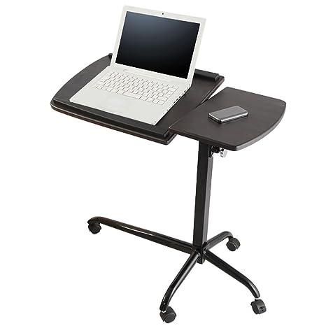 Anjcd Mover la mesa de la computadora de la polea