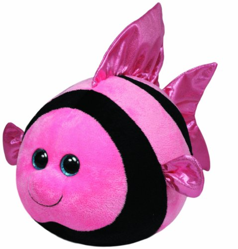 Ty Beanie Ballz Gilly Angelfish Plush - 1