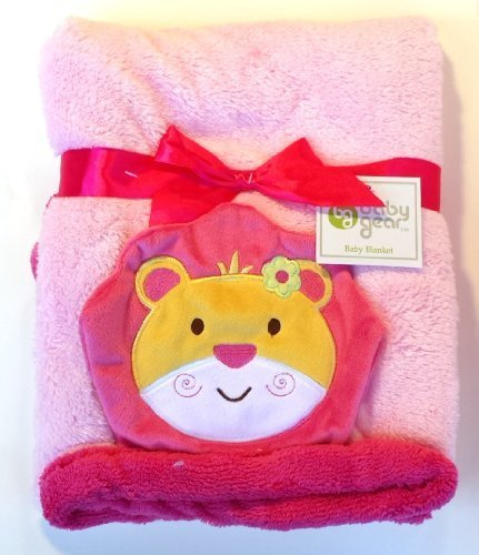 Baby Gear Pink Lion Baby Blanket - 1