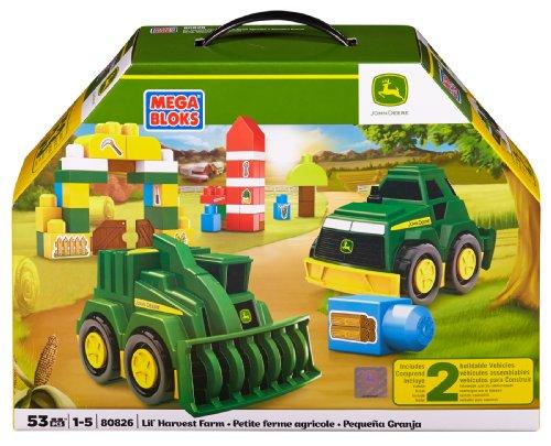 Mega Bloks John Deere Lil' Harvest Farm