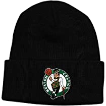 NBA adidas Boston Celtics Cuffed Knit Beanie - Black