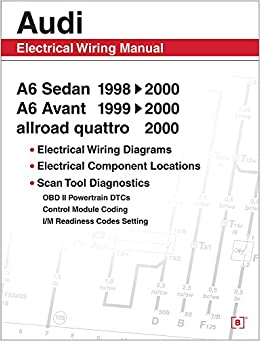 audi a6 electrical wiring manual a6 sedan 1998 2000 a6. Black Bedroom Furniture Sets. Home Design Ideas