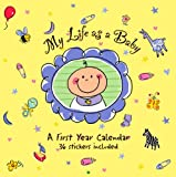 Peter Pauper Press My Life as a Baby Calendar: A First Year Calendar