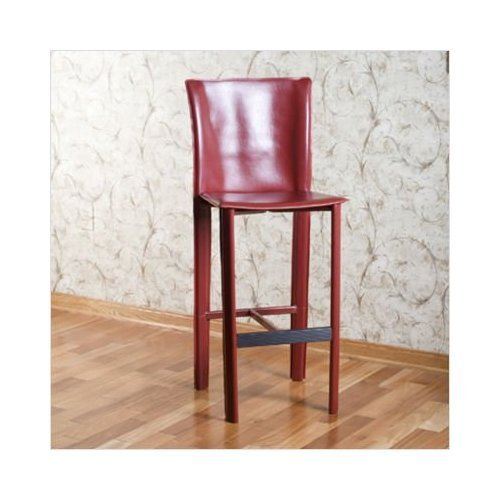 Set of 2 American Heritage Ethos Red Bar Stools