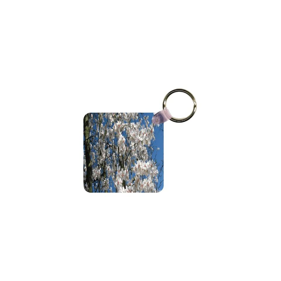 Rikki KnightTM Macro Squirrel in Autumn Forest Key Chain **Proudly Made in the USA**