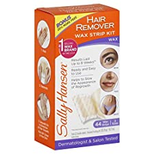 Sally Hansen Wax Strip Kit, Hair Remover, 1 kit