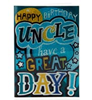 Uncle Flitter Text Birthday Card