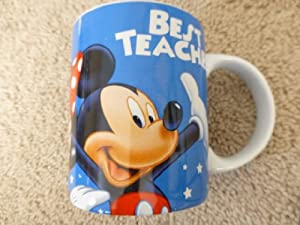 "Disney's Mickey Mouse & Friends ""Best Teacher"" 10oz Ceramic Mug"
