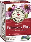 Traditional Medicinals Organic Echinacea Plus Tea, 16 Tea Bags (Pack of 6)