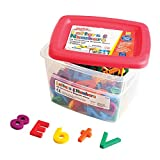 AlphaMagnets Letters & Numbers Combo Set-Multicolored