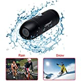 CAMPARK ACT30 Bullet Full HD 1080p Extreme Sports Action video helmet camera with Mounting Accessories