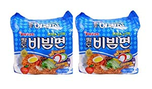 Bibim Men Oriental Style Noodle Spicy Coldmi Kho Dai Han Multi Package5 Packs X 2 by Paldo