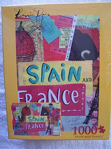 Bonnie Dain Spain and France 1000 PC Puzzle - 1