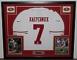 Colin Kaepernick Autographed and Framed White 49ers Nike Jersey Auto PSA COA (Free Shipping!!)